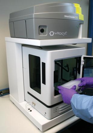 virus-counter-autosampler mechanical product development - Converse Design Engineering